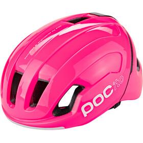 POC POCito Omne Spin Casco Niños, fluorescent pink